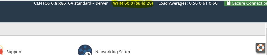 پایان زمان پشتیبانی cPanel & WHM ورژن 54