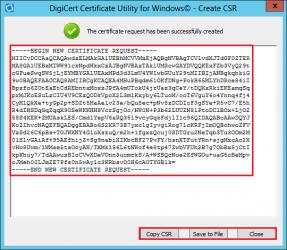 CSR SSL certificates