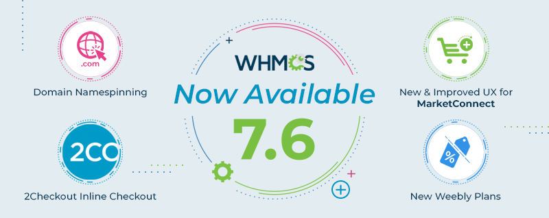 نسخه WHMCS 7.6 منتشر شد