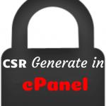 ساخت ایجاد CSR در سی پنل