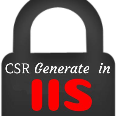 ساخت ایجاد CSR در IIS