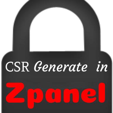 ساخت ایجاد CSR در Zpanel